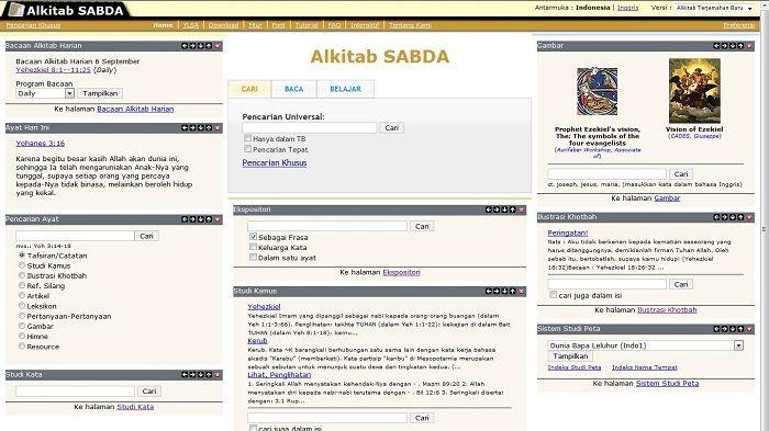 Situs Alkitab SABDA