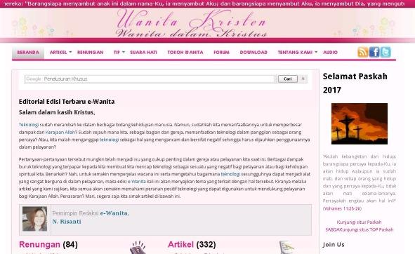 Situs Wanita Kristen