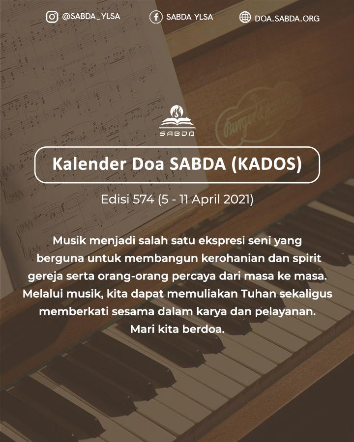 Pokok Doa KADOS 5 -- 11 April 2021
