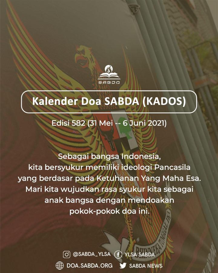 Pokok Doa KADOS 31 Mei -- 6 Juni 2021