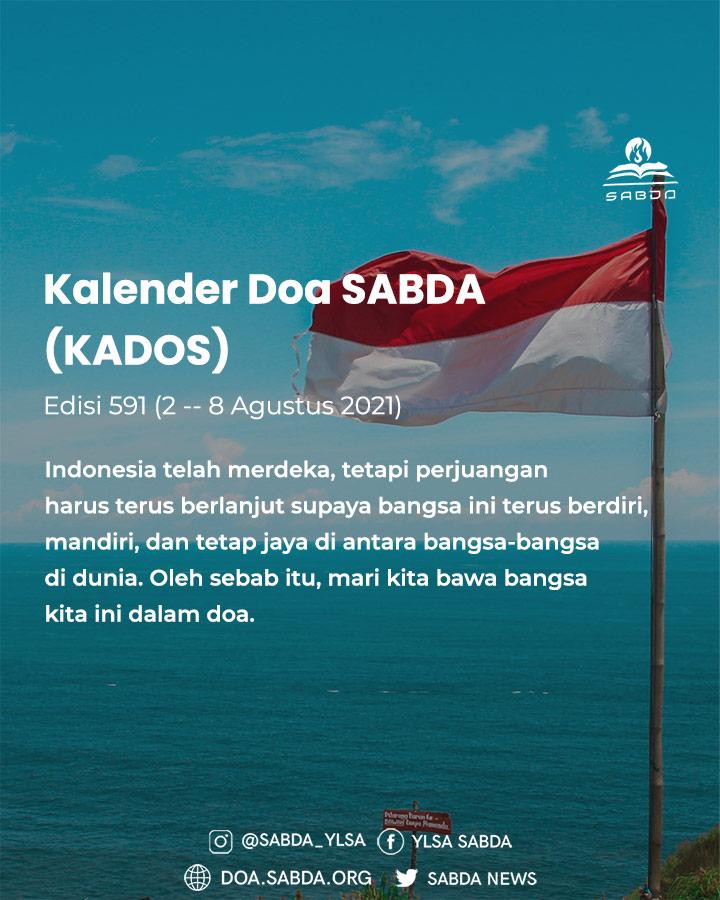 Pokok Doa KADOS 2 -- 8 Agustus 2021