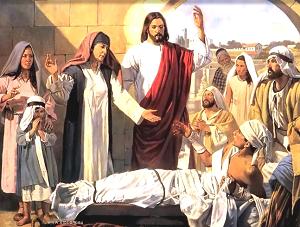 Yesus membangkitkan Lazarus