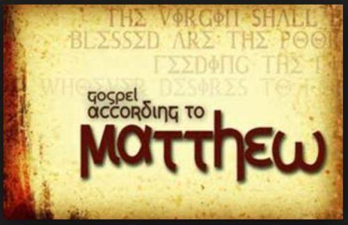 Gambar: Injil Matius