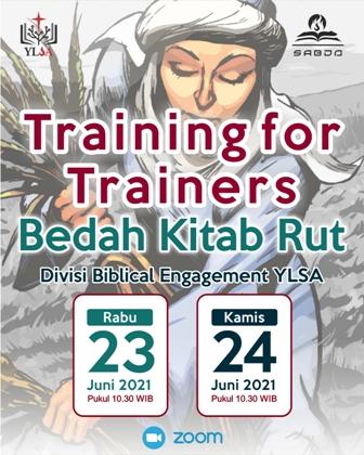 Brosur Training for Trainers Bedah Kitab Rut