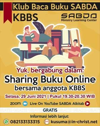 Brosur Sharing Buku Online