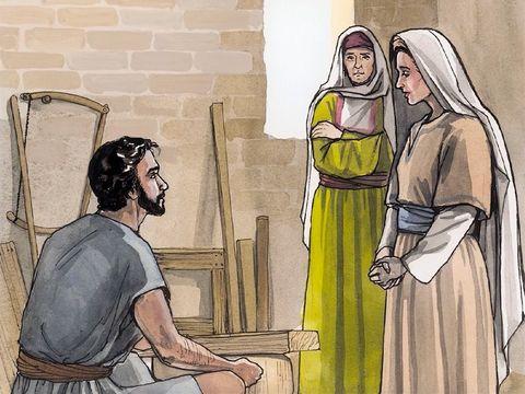 Gambar: Kehamilan Maria