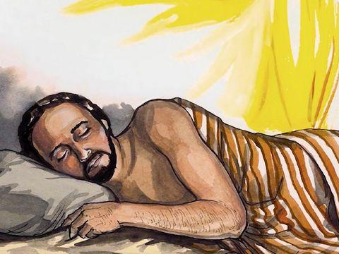 Gambar: Malaikat dan Yusuf