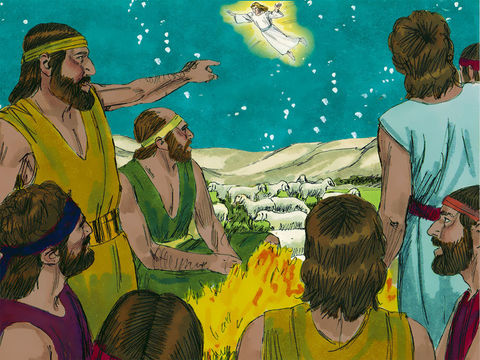 Gambar: Kedatangan Yesus