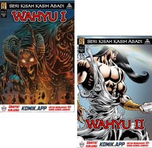 Gambar: Cover Komik Wahyu 1 dan 2