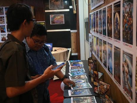 Gambar: Booth SABDA Komik dalam #SABDA25