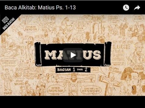 Video Matius 1--13