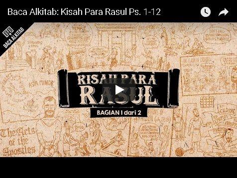 Video: Kisah Para Rasul 1 -- 12