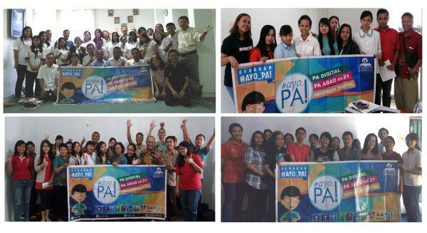 Roadshow #Ayo_PA! di kelompok-kelompok persekutuan Surakarta