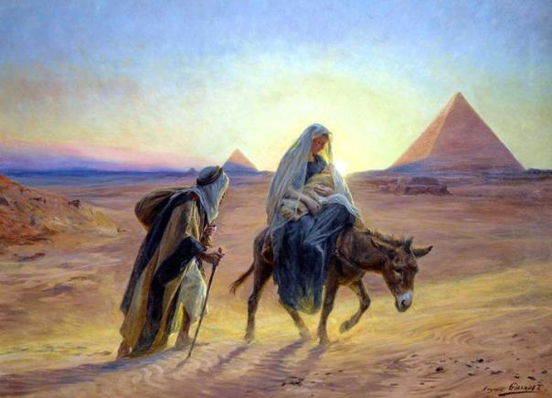 Perjalanan Maria dan Yusuf ke Mesir