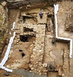 Gambar: Rumah courtyard abad ke-1 di Nazaret