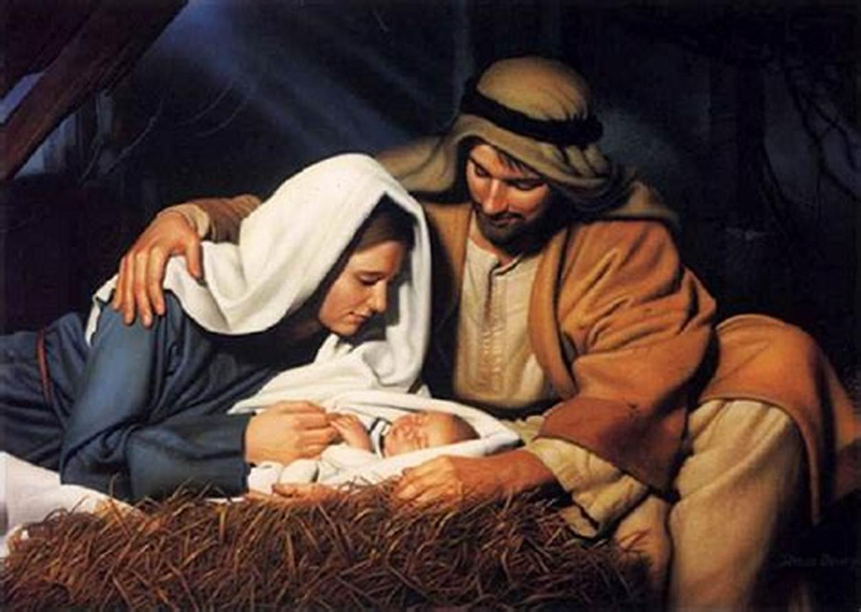 Gambar: Kelahiran Yesus