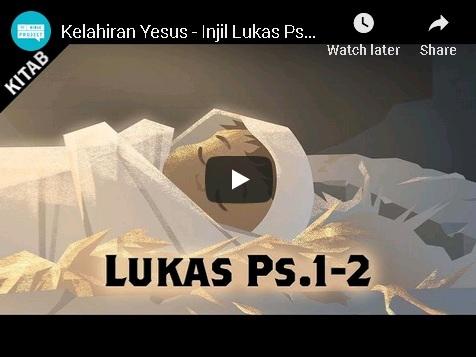 Video: Kelahiran Yesus (Lukas Ps. 1-2)