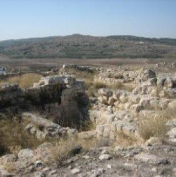 Gambar: Kuil Kuno di Tel Beth-Shemesh