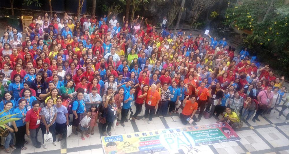 Gambar: Temu Raya Pelayan Anak dan Remaja Gereja Kemah Injil Indonesia