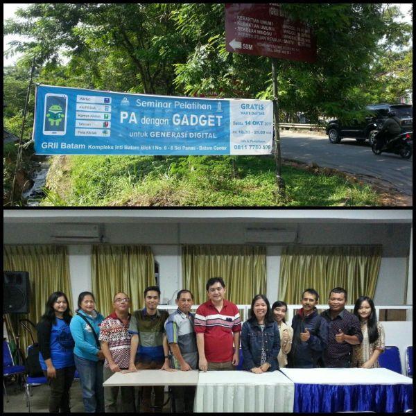 Gambar: Pelatihan #Ayo_PA! di Tanjung Pinang dan Batam