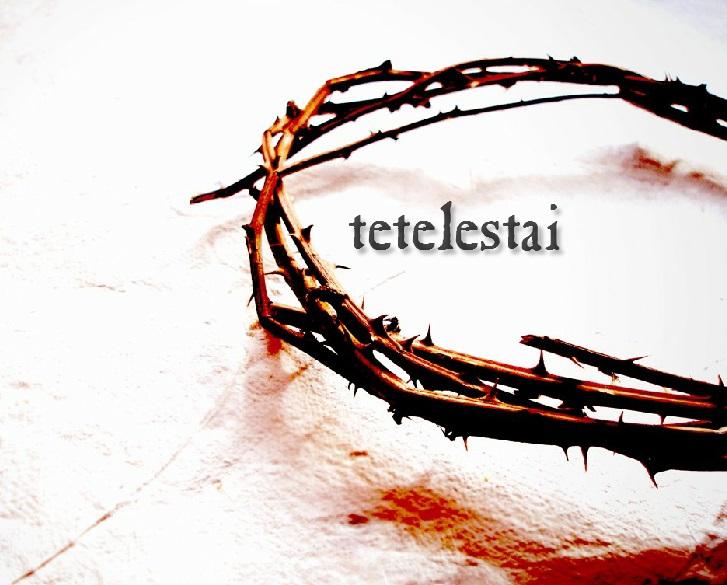 Gambar: Tetelestai