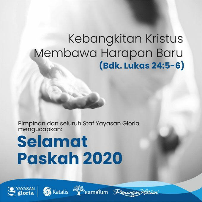 Selamat Paskah 2020!