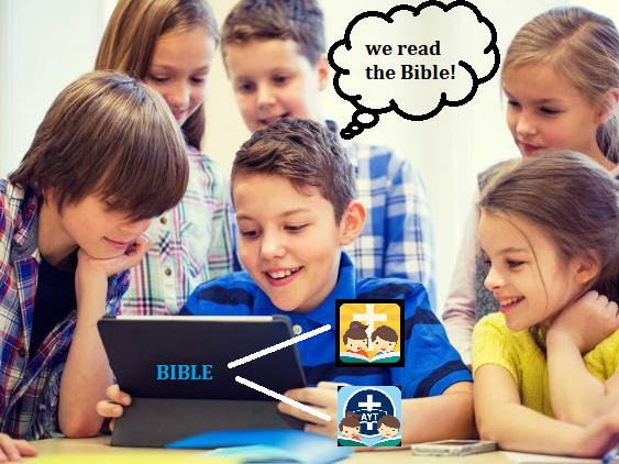 We read the Bible