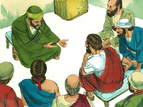 Paulus berkotbah di Roma