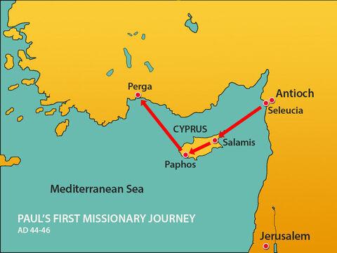 Perjalanan Misi Paulus