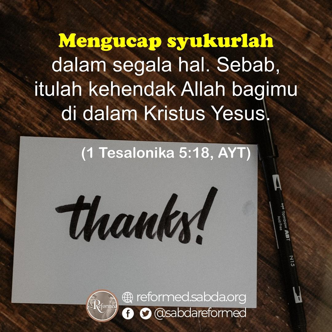 Mengucap Syukur