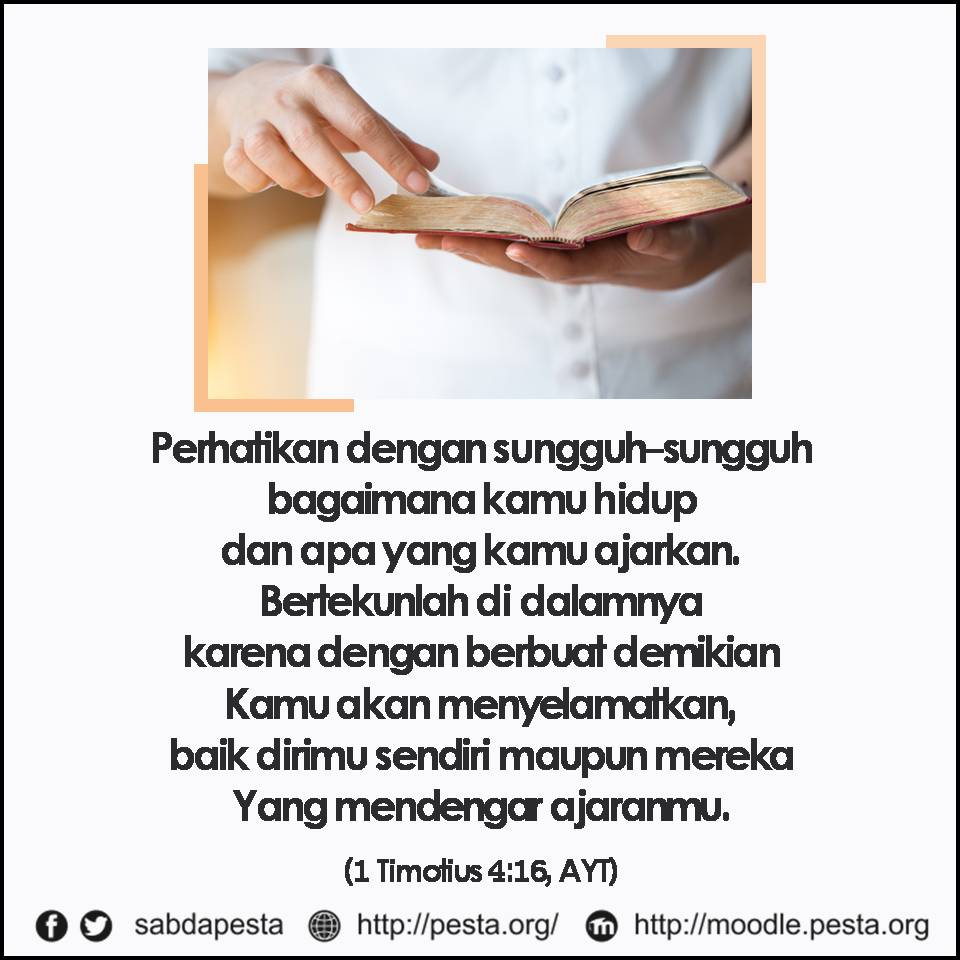 Gambar: Quote 1 Timotius