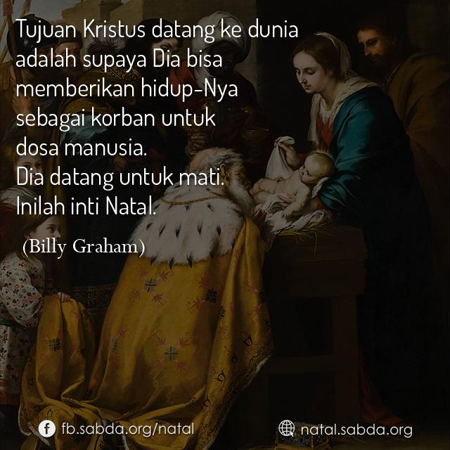 Tujuan Kristus Datang