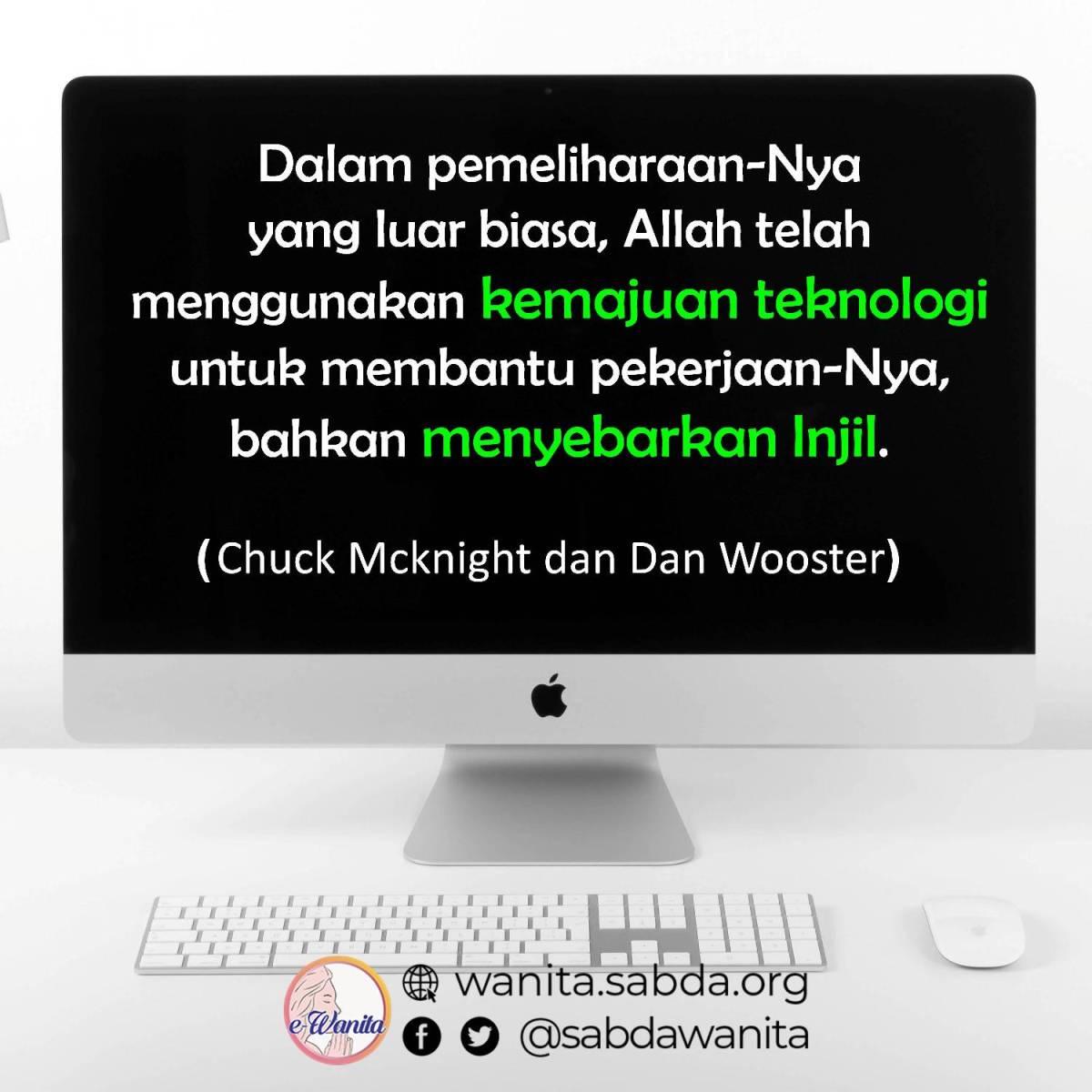 Quote Chuck Mcknight