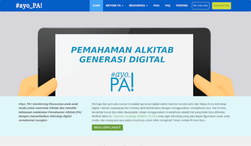 Situs #ayo_PA!