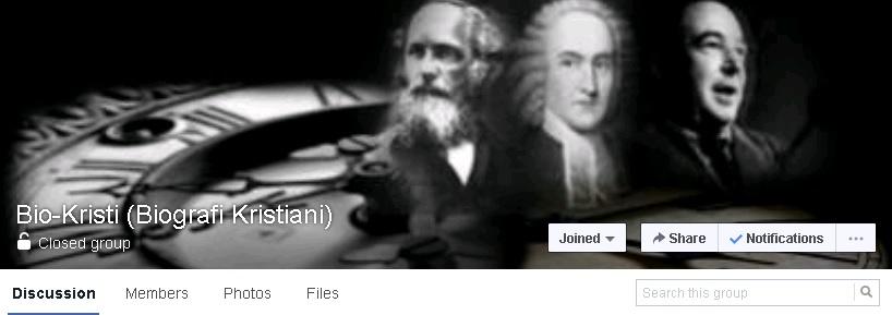 Diskusi Daring Tokoh Yefta di FB Grup Bio-Kristi!