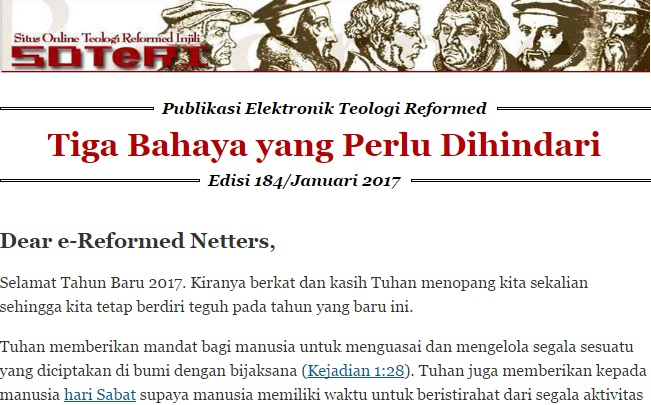 Publikasi reformed