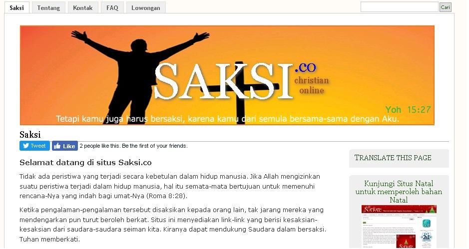 Situs Saksi.co