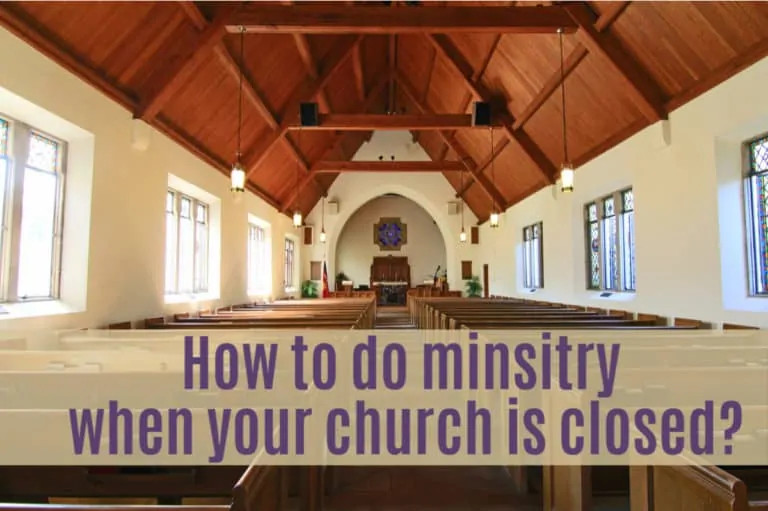29 Ways to Do Ministry when Church is Cancelled by Coronavirus