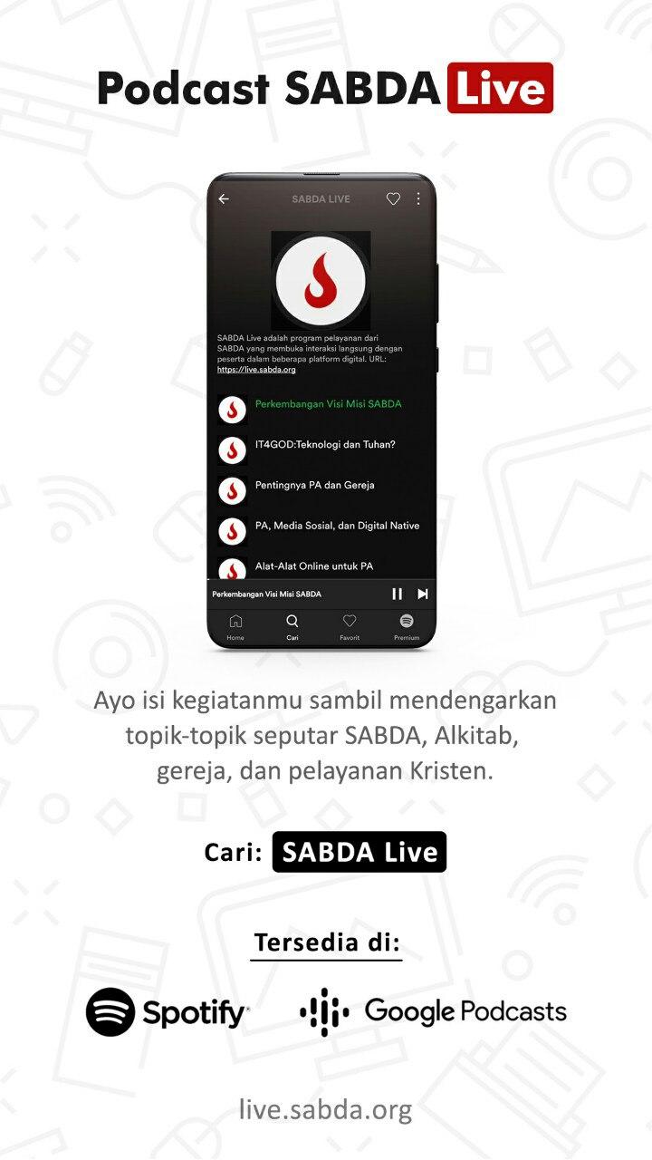 Podcast SABDA Live