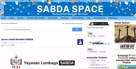 Situs sabdaspace.org