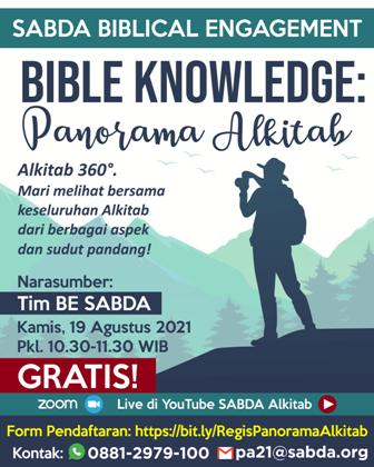 Brosur Bible Knowledge: Panorama Alkitab