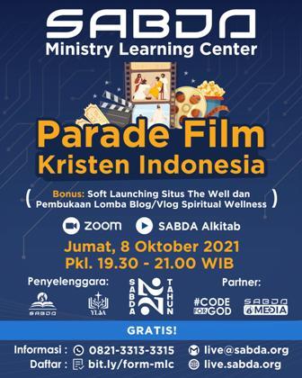 Brosur Parade Film Kristen Indonesia