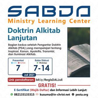 Brosur Kelas Doktrin Alkitab Lanjutan