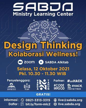 Brosur Design Thinking Kolaborasi Wellness!