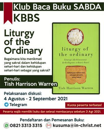 Brosur Liturgy of the Ordinary