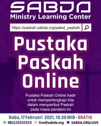 Brosur Pustaka Paskah Online