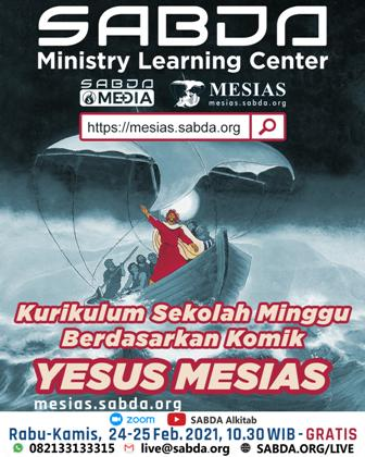 Brosur Kurikulum Sekolah Minggu Berdasarkan Komik Yesus Mesias (Kurikulum)