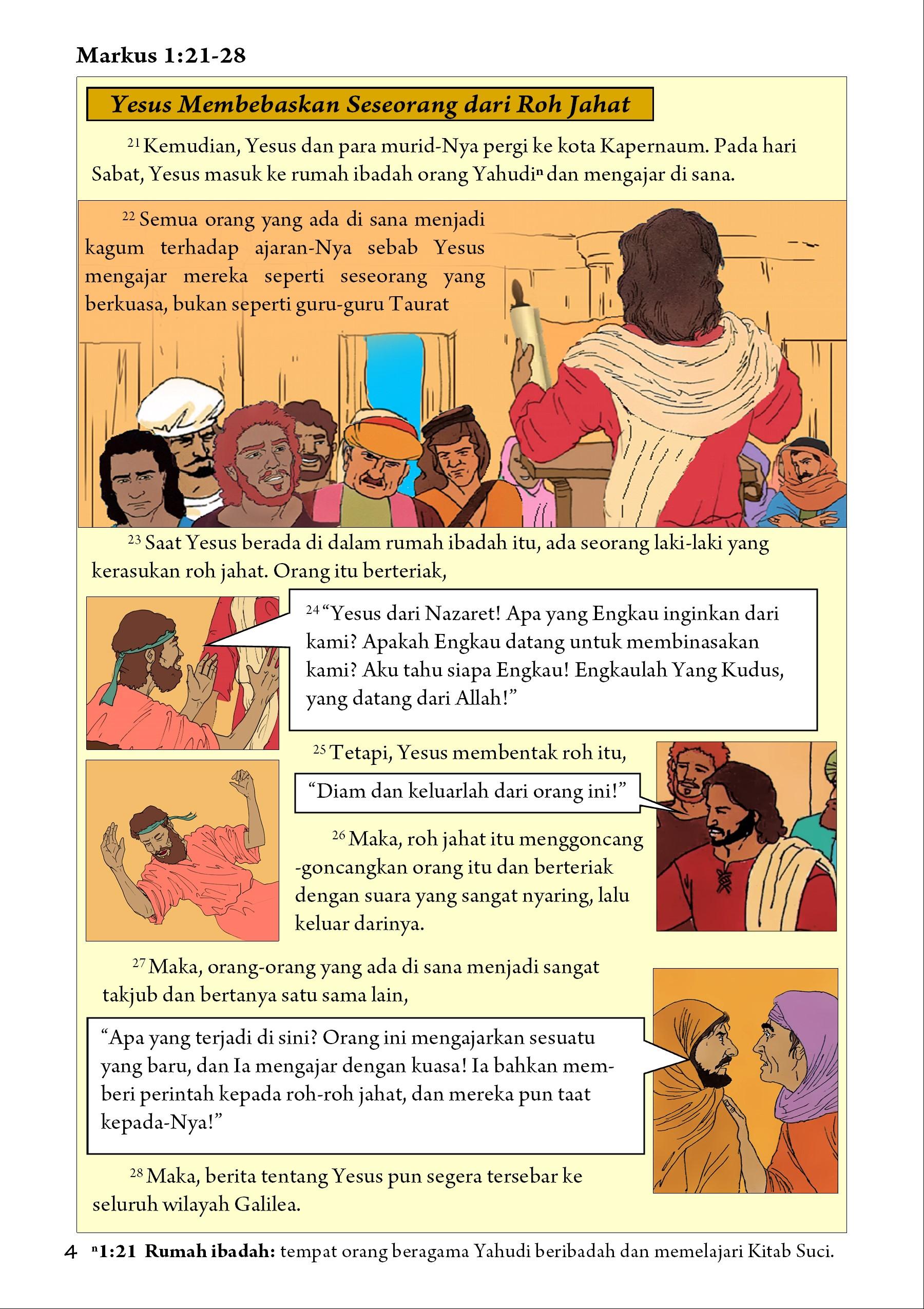 Markus 1:21-28