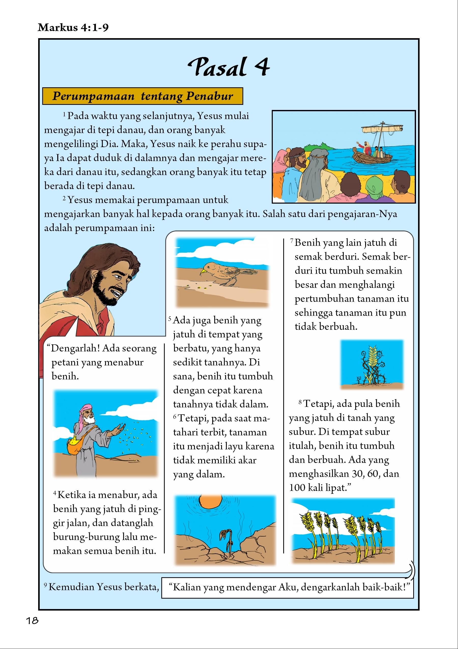 Markus 4:1-9